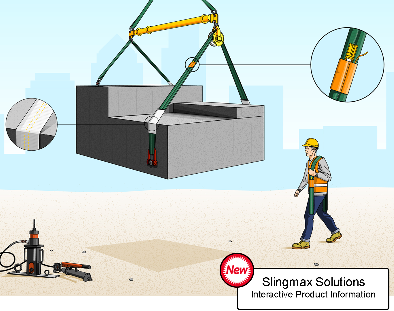 Slingmax® Rigging Solutions | Official Site | Twin-Path® Slings